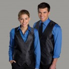 Branded hotel uniforms for front desk