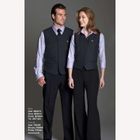 Silky Restaurant Uniforms Vests