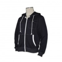 man	long ladies zip up
