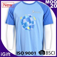 blue tailor-made group t-shirts