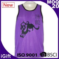purple vest t shirts with pattern
