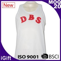 white workwear vest with logo