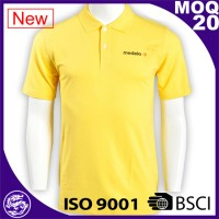 Wholesale High quality OEM services cheap Green hi vis polo shirts design