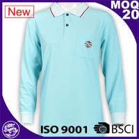 Hot sale custom branded mens polo shirts