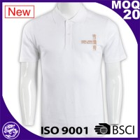 Hot sale high quality ribbed collar cheap custom branded polo shirt made in bangladesh
