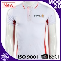 Dragoa Uniform Nylon spandex sport dry fit polo shirt custom running golf men t shirts