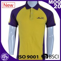 high quality ribbed collar cheap custom branded mens polo shirts