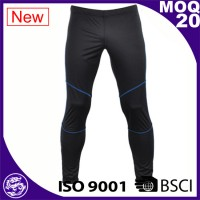 100$ polyester custom dry-fit sport pants for men