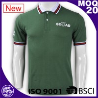 China garment industry cheap new design polo shirts size xxxxl