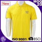 Wholesale Custom Embroidery design custom polo t shirt 100% cotton
