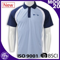 BSCI/ ISO 9001 Factory Wholesale new design bulk golf polo shirts