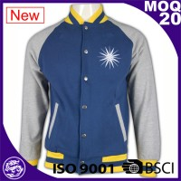 Lastest product good quality wholesale baseball raglan sleeve hoody