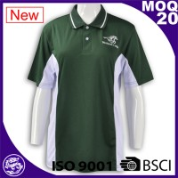 Low MOQ hot sell good quality short sleeve custom cute couple polo shirt