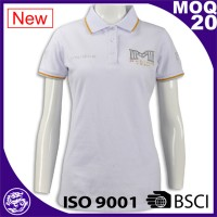 Hot sale high quality ribbed collar cheap custom branded wholesale us polo assn