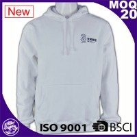 Latest design cheap plain pullover hoodies