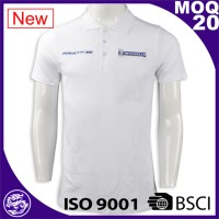 China garment industry cheap new design polo shirts size