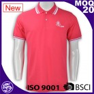 BSCI/ISO9001 2016 Discount Garment Wash sports embroidery/Screen print polo clothing
