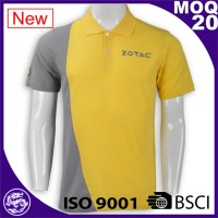 Stand Collar button Polo shirt Short sleeve Shirt