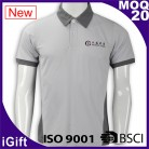 Discount Garment Wash sports embroidery/Screen print polo clothing