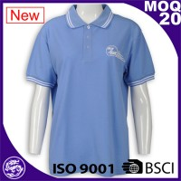 100% Cotton Pique Custom Men Polo Shirt