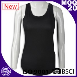 high quality dri-fit T/C Polyester tailored sleeveless long vest