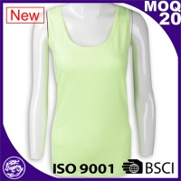 Yoga tops dri-fit T/C tank vest