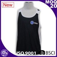 man sleeveless vest t shirt