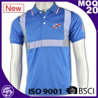 China manufacturers Latest Style 100%Cotton breathable polo tee