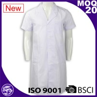 Good quality new design 100% cotton wholesale fashion white uniform nursing