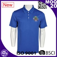 Hot ! new design breathable uniform polo shirts with golo