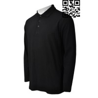 Custom Mens Long Sleeve Polo Shirts Sale