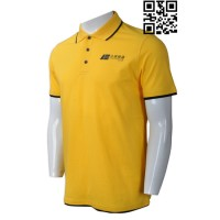 Custom Order Yellow Polo Shirt Mens