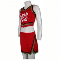 Customized Red Cheer Uniform