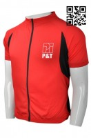 Customize Red and Black Cycling Jersey