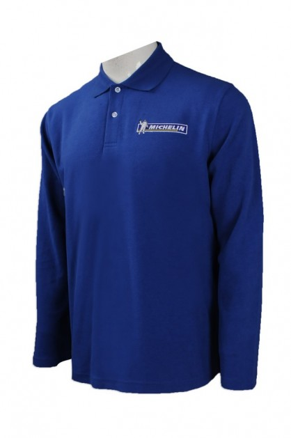 OEM Long Sleeve Polo Shirts