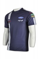 T299 Tailor made car team sublimation cycling sublimation shirts