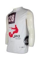 T301 Tailor made sublimation vest personal