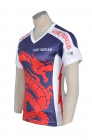 T312 Tailor made ladies sublimation design dri fit sublimation shirts