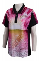 T906 Custom-made sublimation Polo shirt full-piece printed Polo shirt