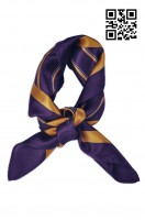 SF-011 custom order silk scarf style Financial bank Custom fashion scarf style Scarf manufacturer