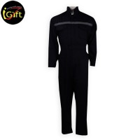 dark navy blue coverall with one reflective strip