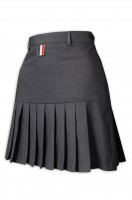 design grey pleated skirt women's wear Cheerleading uniform