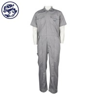 Pure grey coverall suit