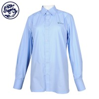 SCA pure light blue long sleeves shirt