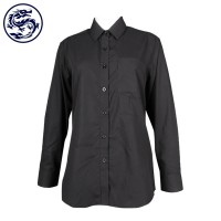 Pure black business shirt