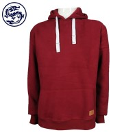 Pure wine red pullover sweater
