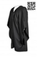 Personalized Black Clerical Preacher Robes