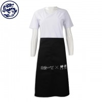 Online Order Half-length Apron Group-made Tea Restaurant Apron Fast Food Restaurant Making Apron Shop