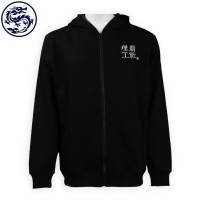 custom-made black embroidered logo baseball Jacket baseball Jacket producer