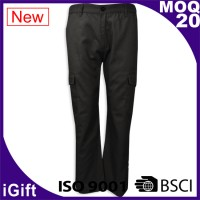 tailor-made trousers style custom-made net color trousers left and right rubber waist spleen pants design trousers supplier